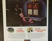 Vintage 1947 Zenith Radio Full Page Original Color Ad A1
