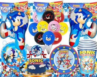 Sonic Party Etsy