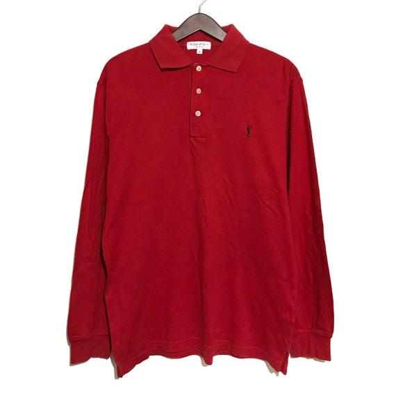 Vintage Ysl LS Polo Shirt
