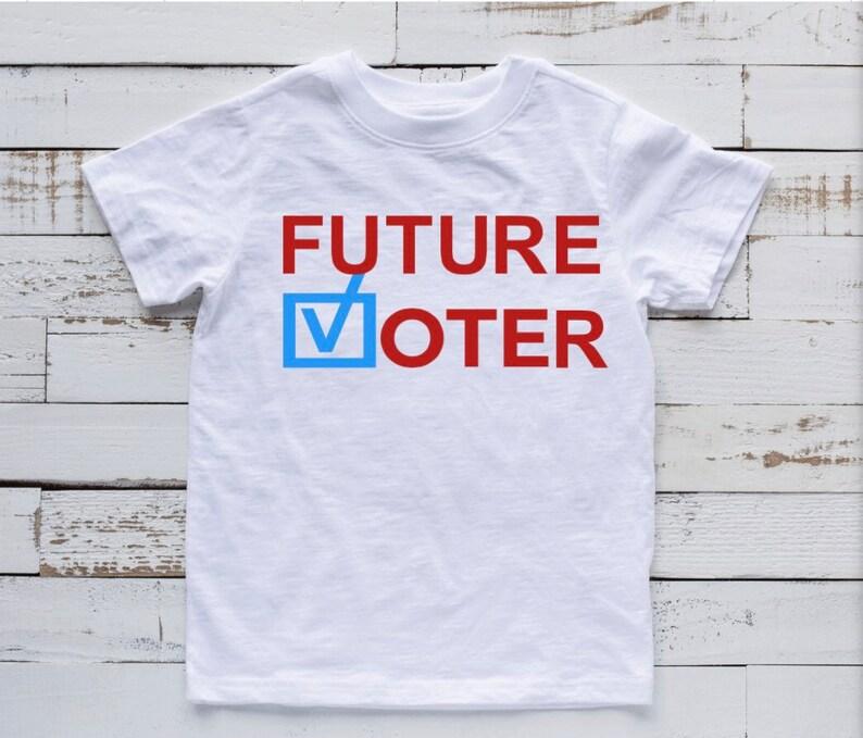 Future Voter Kids/Toddler T-Shirt White