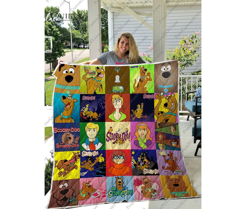 Scooby-doo Quilt Blanket for Fans