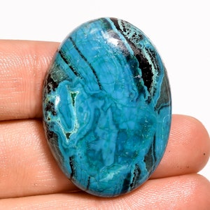 Stunning Top Grade Quality 100/% Natural Chrysocolla Malachite Pear Shape Cabochon Loose Gemstone For Making Jewelry 150.5 Ct 53X44X9mm F2118