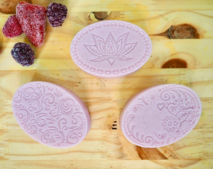 Featured listing image: Berries & Cream Shower n Shave Jellies - VEGAN