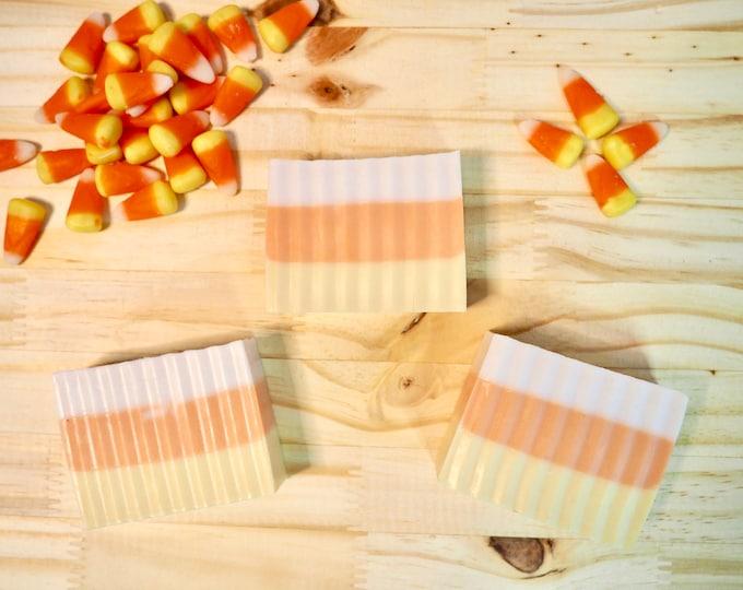 Featured listing image: Candy Corn All-Natural Milk Bath Bar - VEGAN