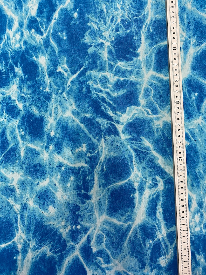 Pool Water Canvas Decorative Fabric Fabric