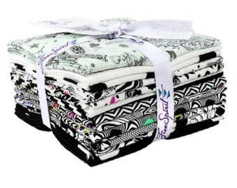 Linework Fat Quarter Bundle by Tula Pink for Free Spirit Fabrics - 2500
