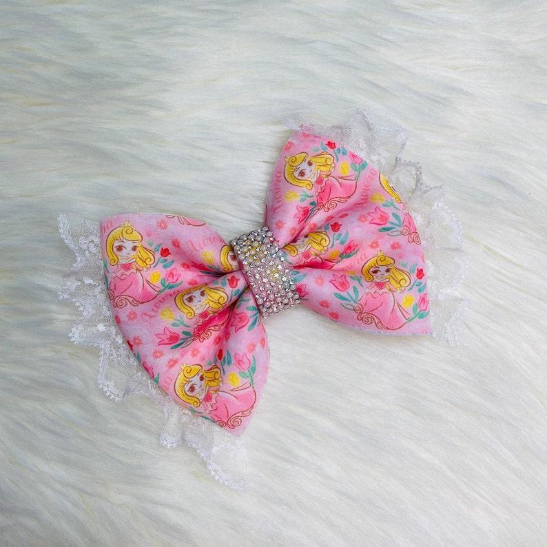 Princess Bling 5 Puff Bow