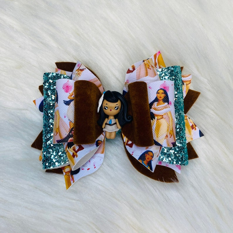 Pocahontas Inspired 5 Clay Bow