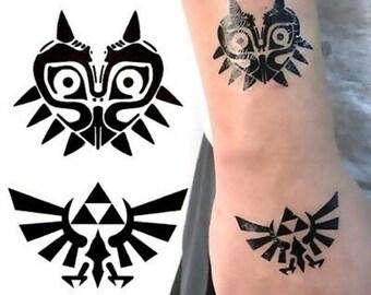 Zelda Tattoo Etsy