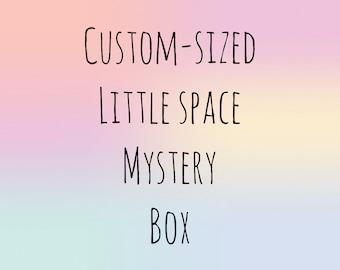 Custom Sized Little Space Mystery Starter Box