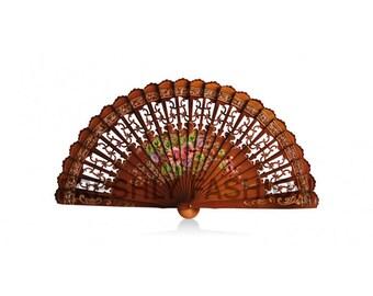 SPANISH NAKED Hand Held Fan