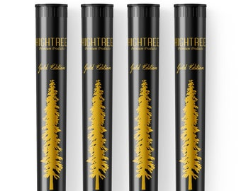 Smell Proof Doob Tubes - 4 PACK | HIGHTREE | Airtight, Waterproof, Discrete, Portable