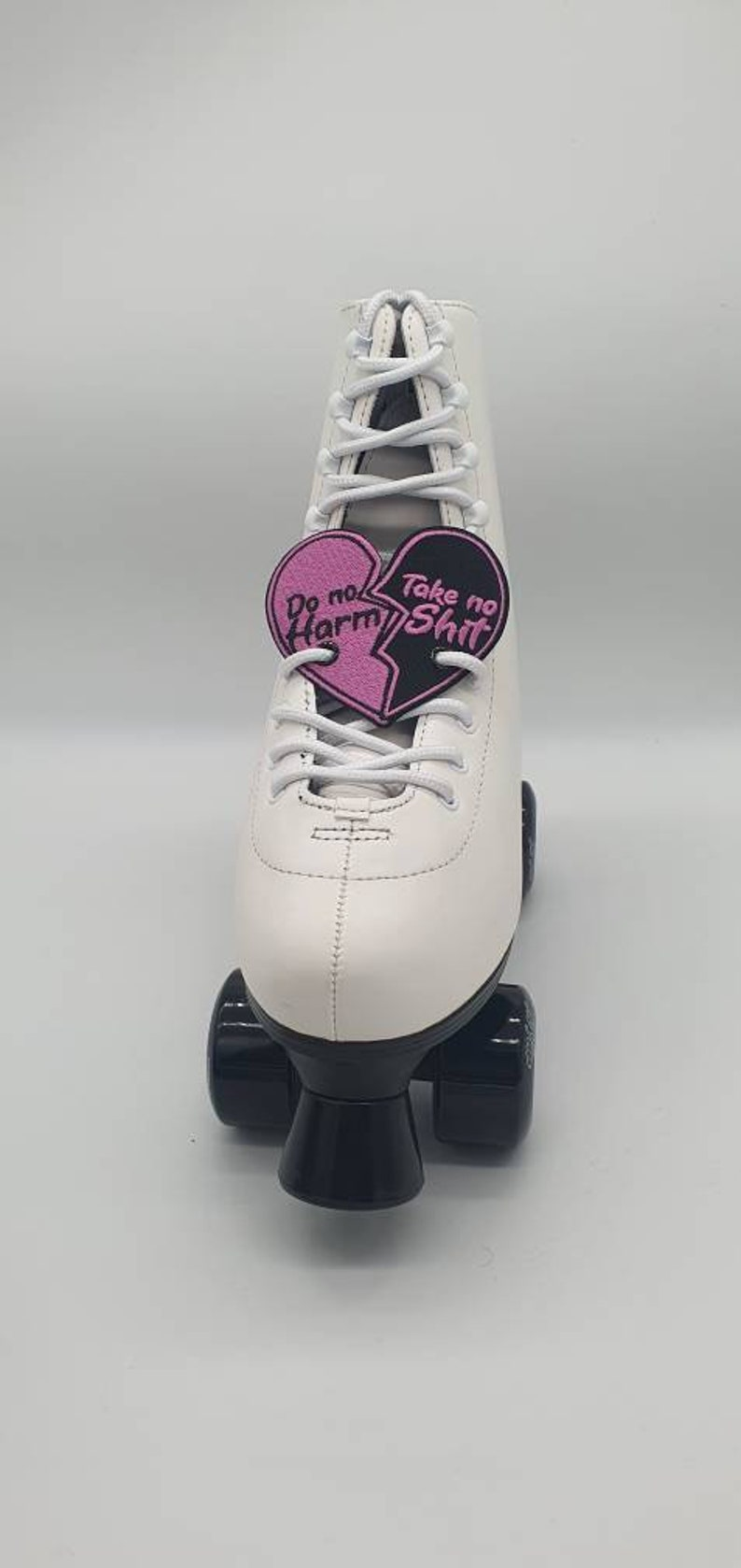 Do No Harm Heart Shoe  Skate Accessories  Wings