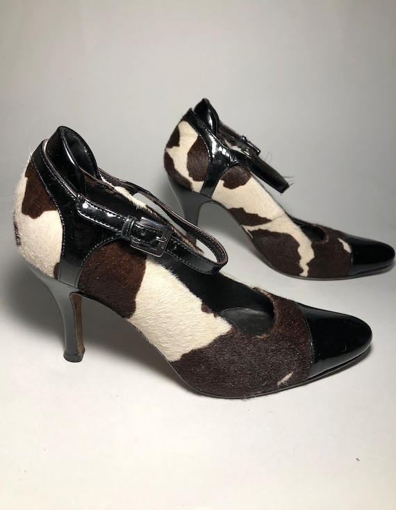 Donald J. Pliner Couture Collection Pony Hair Heel