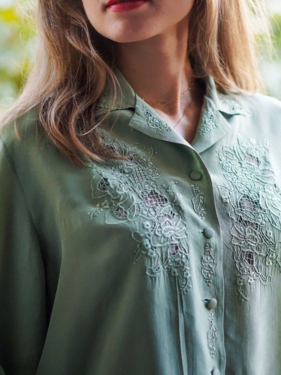 Vintage Blouse with embroidery