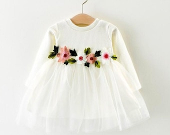 Robe Fille Mariage Etsy