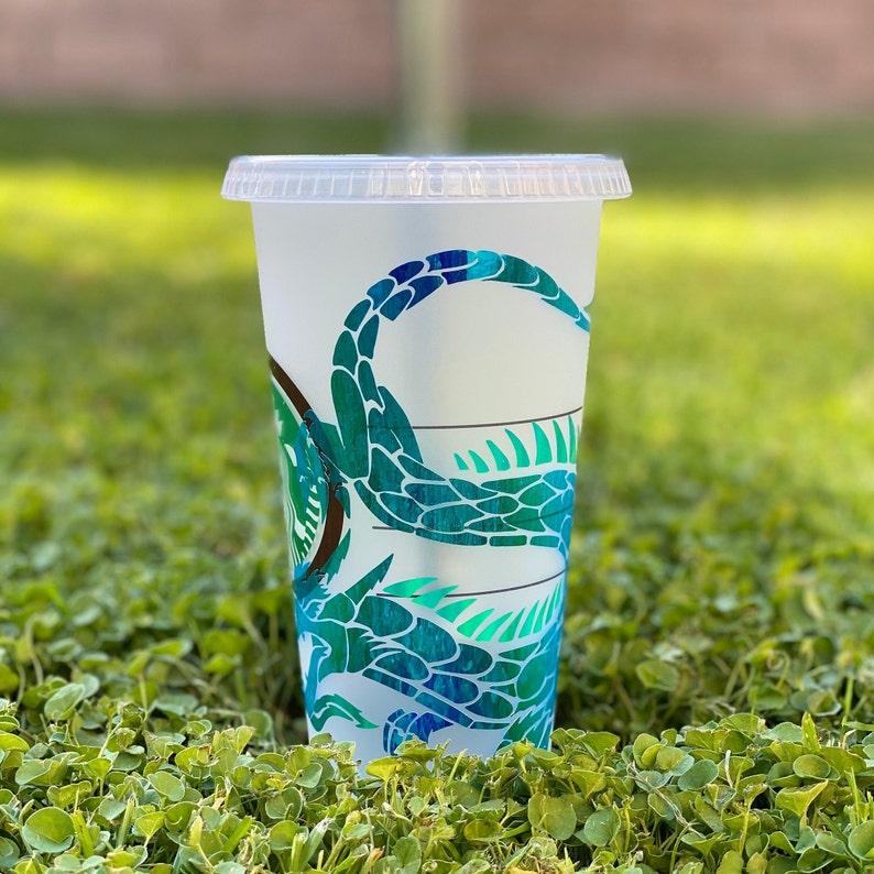 Holographic vinyl Dragon Starbucks Cup