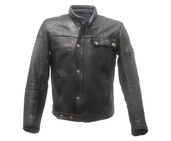Motorcycle Jacket motorcycle jacket leather jacke… - image 1