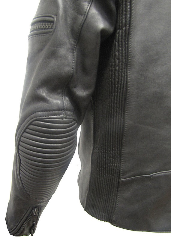 Motorcycle Jacket motorcycle jacket leather jacke… - image 4