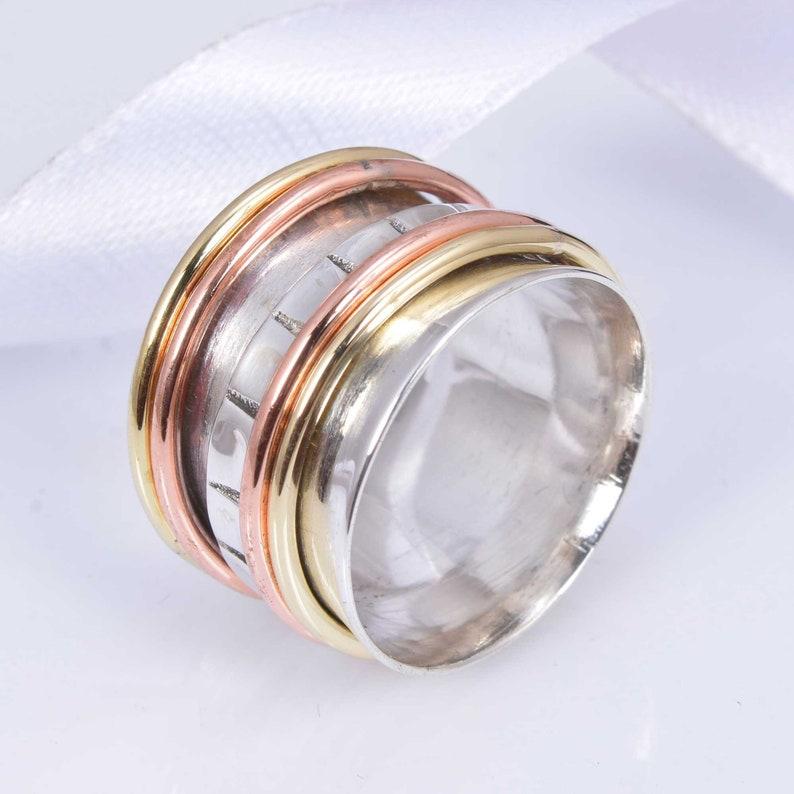 Spinner Ring,Handmade Ring,925 Silver Ring,Designer Ring,Stacking Ring,Women Ring,Boho Ring,Statement Ring,Vintage Ring,Love Ring,Gift Ring