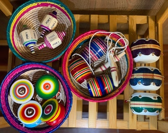 Mexican Toys - Mexican Toy Instruments - Toys Made Out Of Wood - Toy Musical Instruments - Maria Doll - Juguetes Tipico Mexicanos