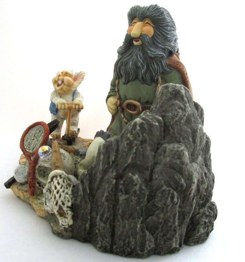 Krystonia 2003 Wizard/'s Council Figurine Hidden Treasure #WC4 David Woodard