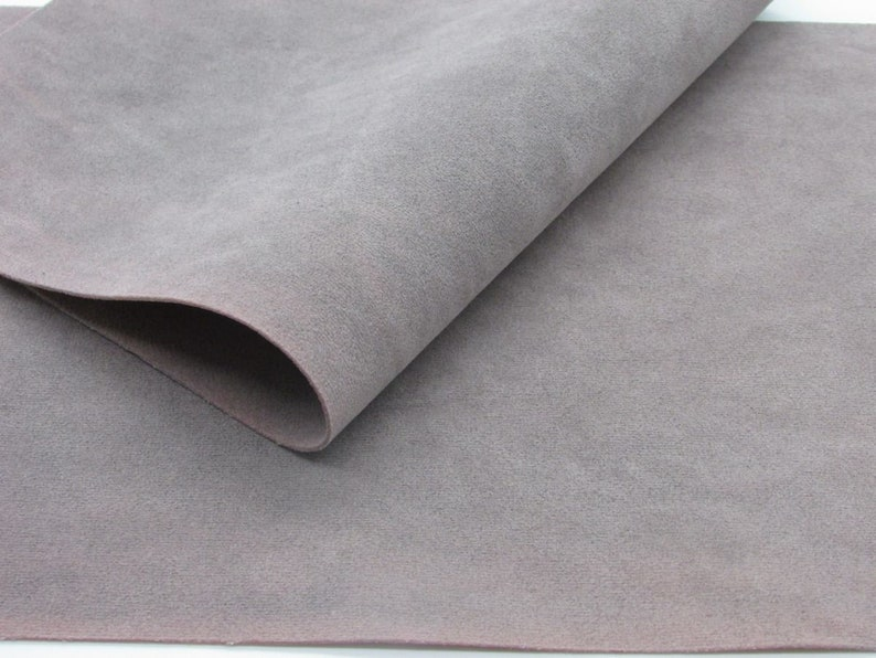 Faux Suede sheets Thistle Suedette sheets E2-100i Flawed