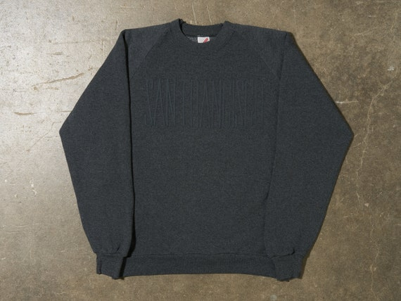 1980s XL San Francisco Jerzees Raglan Sleeve Crewn