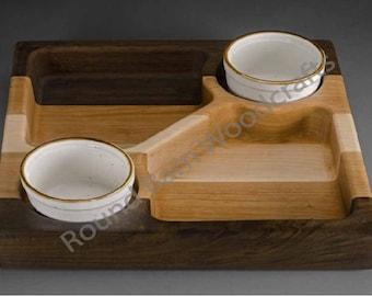 Handmade Chip & Dip Bowl