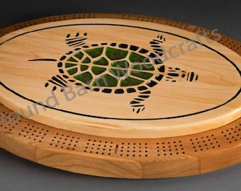 Turtle Cribbage Board