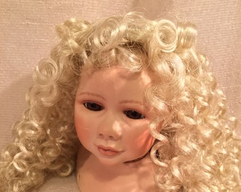 Dark Brown by Global Dolls Aerielle Doll Wig Size 11-12 Color