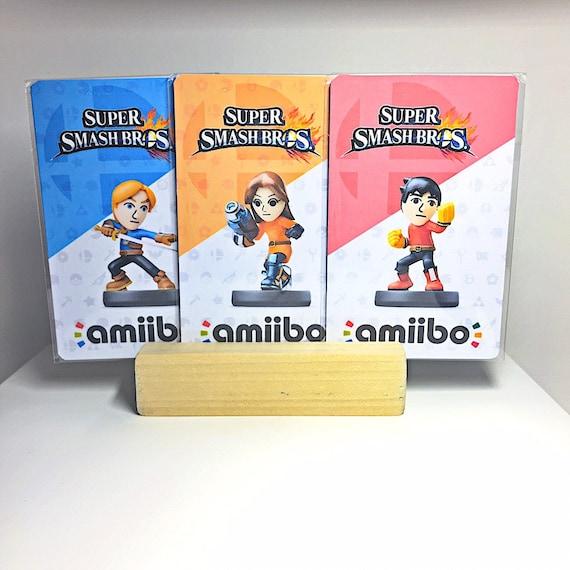 Left Over Super Smash Bros SSBU V2 Ultimate Cards Series Custom Art NFC Tag Cards Does same as Amiibo Made from Card