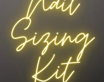 nail sizing kit   nail sizes   press on nails   sizing kit   press on nail kit   press on nail sizing   sizing guide   cheap nail kit