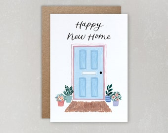 Happy New Home Card | Housewarming Card | New Home Card | New House