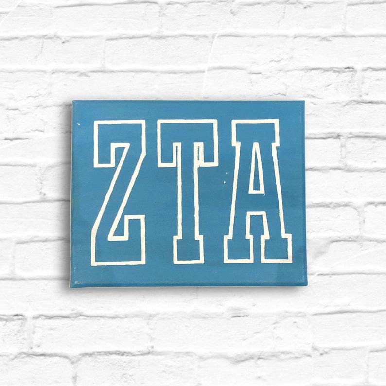 zeta tau alpha sorority Zeta tau alpha collegiate sorority canvas