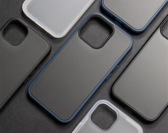 Translucent Shockproof Bumper Case For IPhone 13, iPhone 13 Pro, iPhone 13 pro  Max 13 Pro, Mini, 11 pro,12 ,12 pro Protective Back case