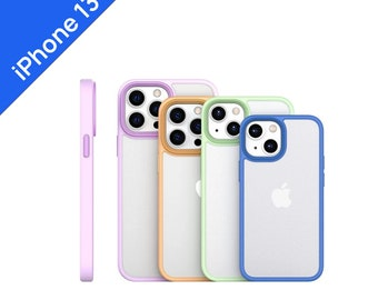 Shockproof Bumper Clear Case For iPhone 13 13 Pro Max case, 13 mini case, 11 XR case, X XS Max Case, 7 8 Plus case Se 2020