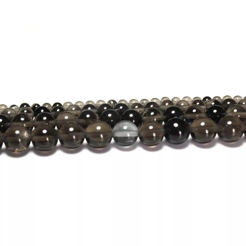 Natural Eye Lcy Obsidian Beads Obsidian Round Beads 46810mm Size Available Jewelry Making Polished Beads Round Beads Smooth Beads