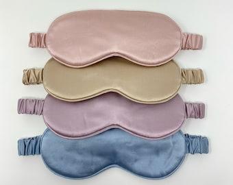 Pure Mulberry Silk Sleep Mask/ Eye Mask/ Pure Mulberry Silk/ Super Soft/ Anti-Aging/ Self care/ Gift
