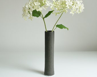 Tall Thin Vase Etsy