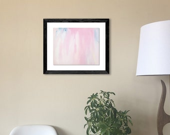 """Original Painting - Watercolor on 8""""x10"""" Paper (unframed). Handmade art by Japanese artist living & working in NYC."""