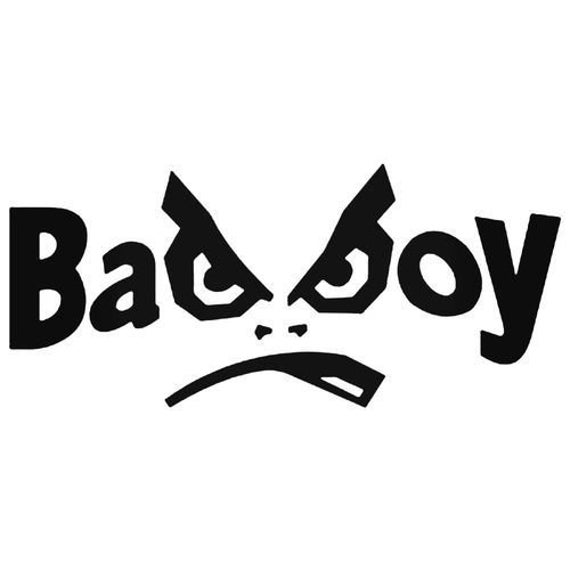 Bad Boy decal sticker for Car truck suv van phone Window, Bumper, Mirror, Mudlap, Laptop, yeti