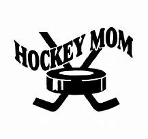 Hockey Mom Decal Sticker for your car truck suv phone tablet window bumper