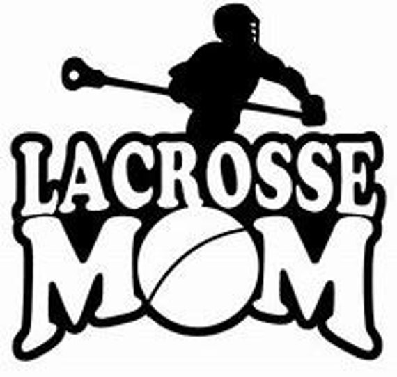 Lacrosse Mom Decal Sticker for your car truck suv phone tablet window bumper