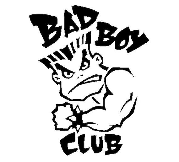 Bad Boy Club decal sticker for Car truck suv van phone Window, Bumper, Mirror, Mudlap, Laptop, yeti