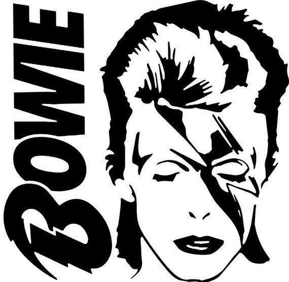 Bowie Decal for your car truck phone wall