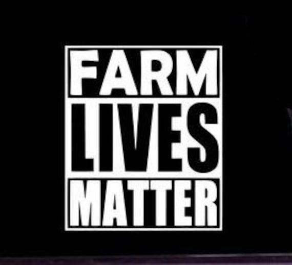 Farm Lives Matter Decal - Sticker For Your Car Truck phone or Window