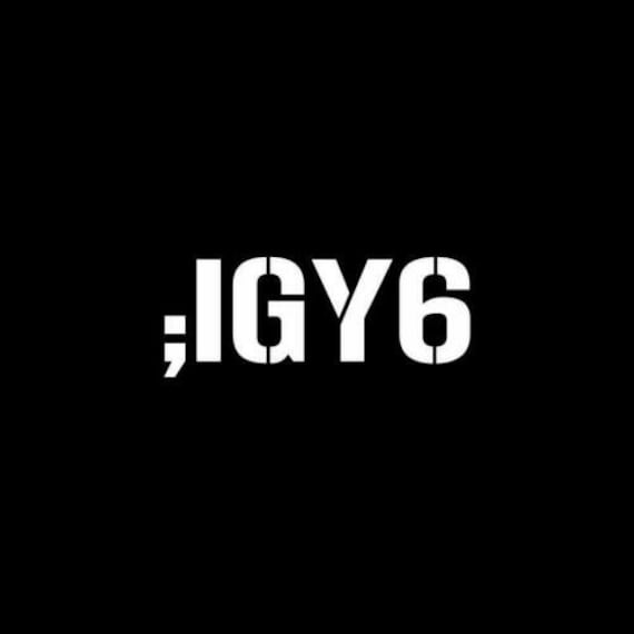 IGY6  - Back the Blue - I Got Your Six - Support the Police Decal Sticker for your car truck vehicle window