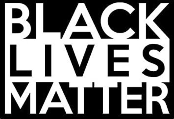 Black Lives Matter Anti Racism Decal - For Your Car or Truck