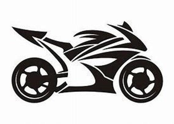 SVG File of Sportsbike SVG File Download